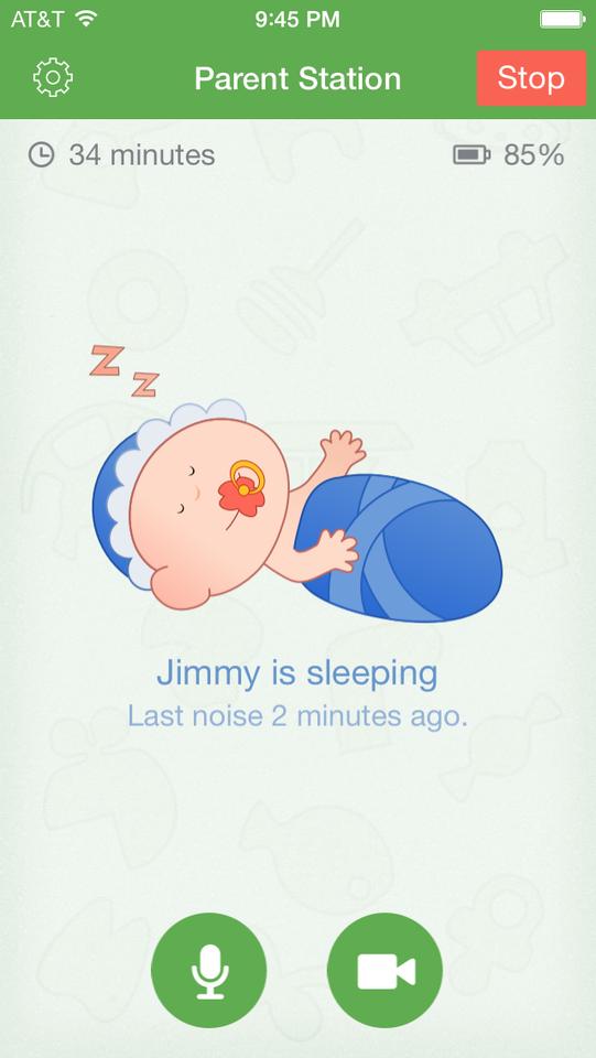 Babyfoon 3G app