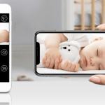 Babyfoon met app en ouderunit