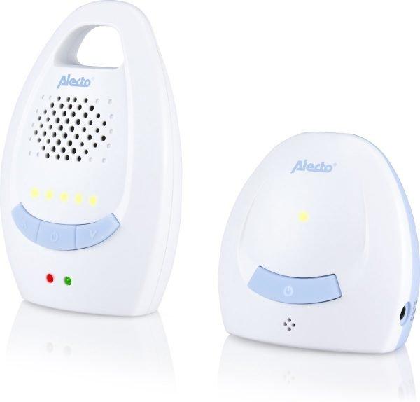 Alecto DBX-10 Digitale Babyfoon | Met digitale en 100% storingsvrije verbinding | Wit / Blauw