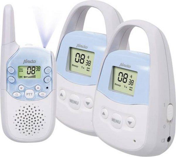 Alecto DBX 82 + DBX 83 Twinset Babyfoon met extra groot bereik 3KM