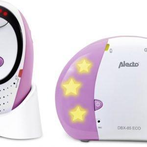 Alecto DBX-85 RZ Digitale ECO DECT babyfoon | 100% storingsvrije verbinding en ECO modus | Roze