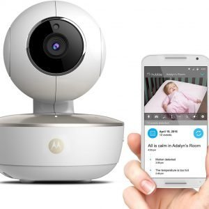 Motorola MBP-88 CONNECT Wifi camera | Stand alone of uitbreiding voor MBP-853 / 854 / 667 / 845 / 855 | Wit