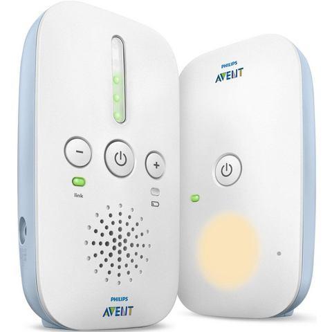 Philips Avent DECT babyfoons SCD503/26, met nachtlampje en Smart ECO-modus, wit/lichtblauw