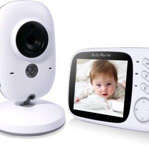 VB603 Video Baby Monitor Babyfoon Met Camera en touchscreen - Wit