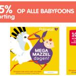 Mega mazzeldagen Prenatal gaan bijna van start!