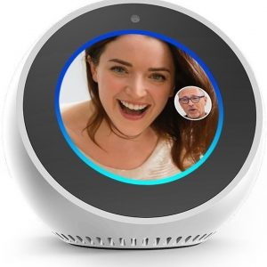 Amazon Echo Spot wit Smart Home Hub met beeldscherm