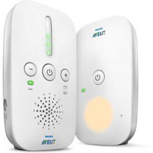 Philips AVENT Audio Monitors SCD502/26 babyfoon DECT babyphone 120 kanalen Wit