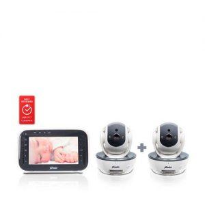 Alecto DVM-200/201 babyfoon met twee cameraâs