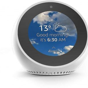 Amazon Echo Spot wit Smart Home Hub met beeldscherm - Refurbished