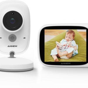 Annew Babyfoon Baby Monitor met camera - Wit JK3