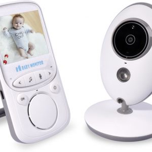 Babyfoon Baby Monitor Met Camera - Wit