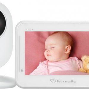 Babyfoon Sssh! Connect Y - Met camera - 4.3 inch beeldscherm