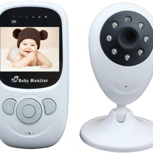 Draadloze HD Babyfoon Baby Monitor met Temperatuurmeter