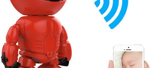 Eyzo Smart IP WiFi Robot Camera   HD Hoge Kwaliteit 960P