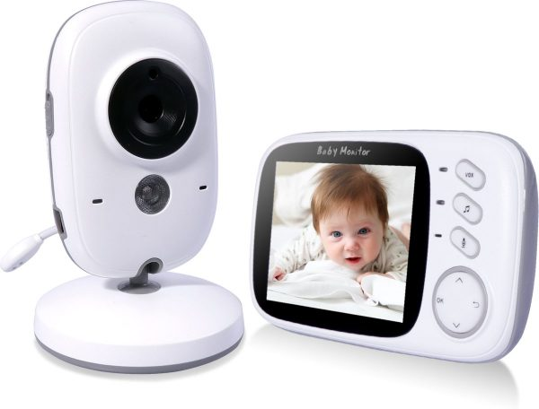 VB603 Video Baby Monitor Babyfoon Met Camera - Wit