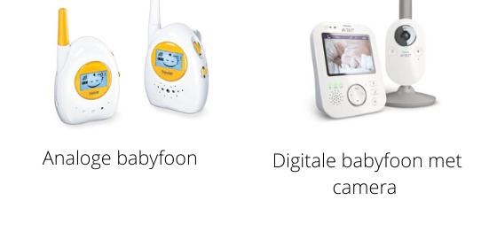 Vox-functie babyfoon