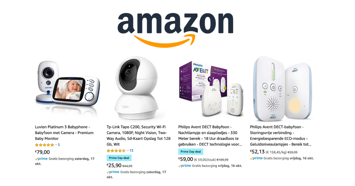 babyfoon kopen Amazon